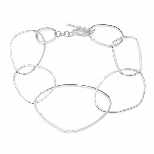 AMAI Jewellery - Abstract Bangle - Silver